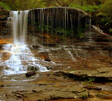 Weeping Rock Falls by Sarah Donoghue