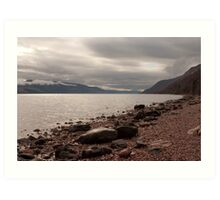 Morning over Loch Ness Art Print