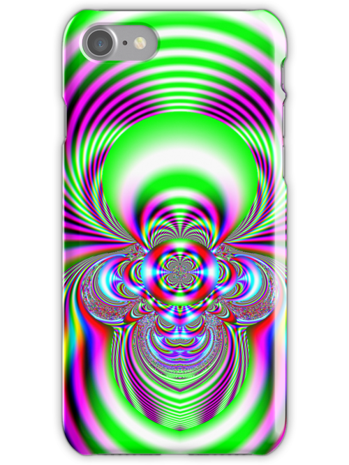Beautiful Abstract No5 iPhone case design by Dennis Melling