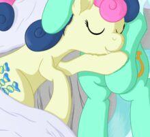 We're ... Lyra and Bonbon Sticker