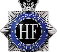 Sanford Police Badge by TohruRokuno