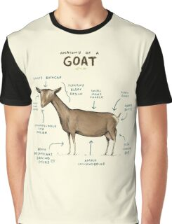Anatomy of a Goat Graphic T-Shirt