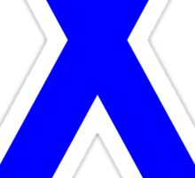 Colon Cancer Awareness ribbon Sticker