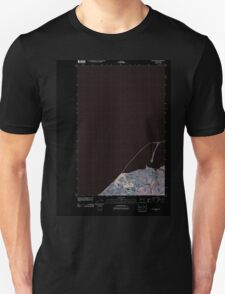 USGS Topo Map Washington State WA Dungeness 20110419 TM Inverted T-Shirt