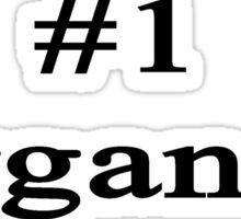 #1 Organist  Sticker