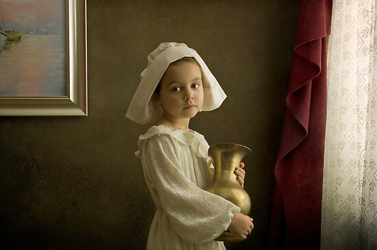 The merchant's daughter by Bill Gekas