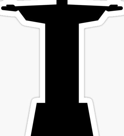 Corcovado black Sticker