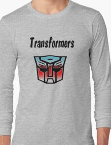 Transformers Long Sleeve T-Shirt