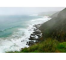 Foggy Ocean View  Photographic Print