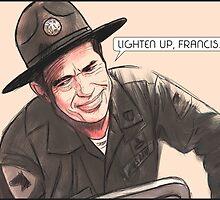 Lighten up, Francis. by Superstartistry