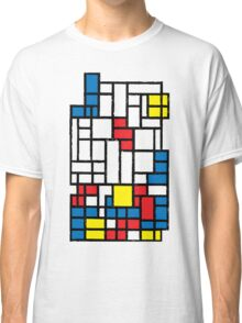 COMPOSITION WITH FALLING BLOCKS Classic T-Shirt