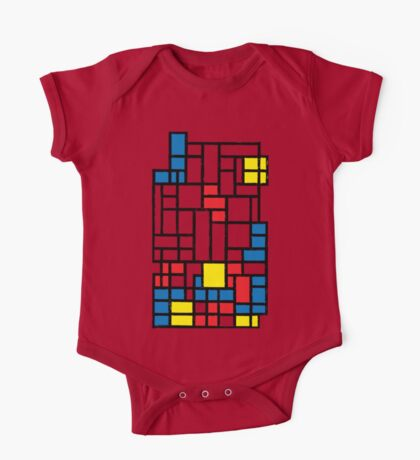 COMPOSITION WITH FALLING BLOCKS Kids Clothes