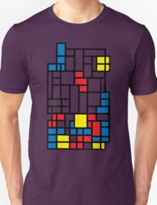 COMPOSITION WITH FALLING BLOCKS T-Shirt