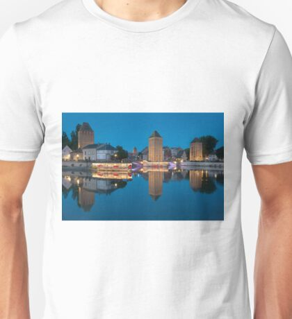 Covered bridge, in the petite france, Strasbourg Unisex T-Shirt