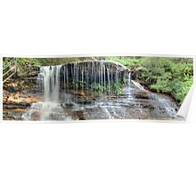 Weeping Rock Falls in Panorama Poster