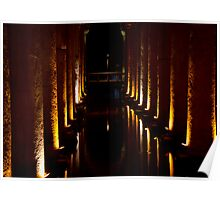 Istanbul Cisterns  Poster