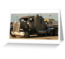 Truck 7942 Green Greeting Card