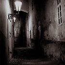 Prague by Night I by Matthew Pugh
