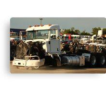 Truck 7946 White Canvas Print
