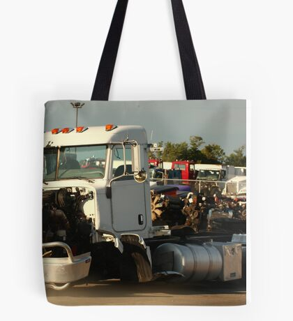 Truck 7946 White Tote Bag
