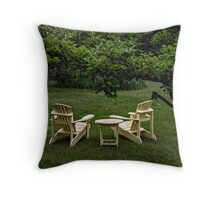 A place to relax Throw Pillow
