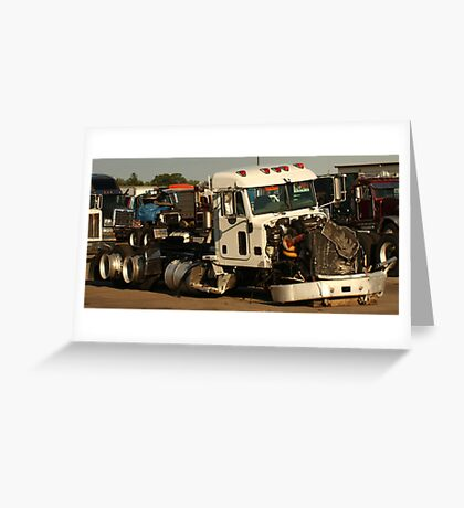 Truck 7952 White Greeting Card