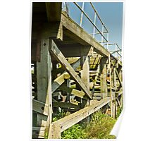Chasewater Pier Poster