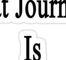 That Great Journalist Is My Boyfriend  Sticker