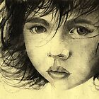 Girl Etching 2 by freeminds