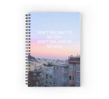 halsey // hurricane Spiral Notebook
