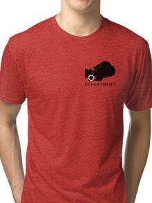 Camera Deparment - small Tri-blend T-Shirt