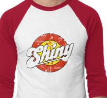 Shiny (light apparel and stickers) Men's Baseball ¾ T-Shirt