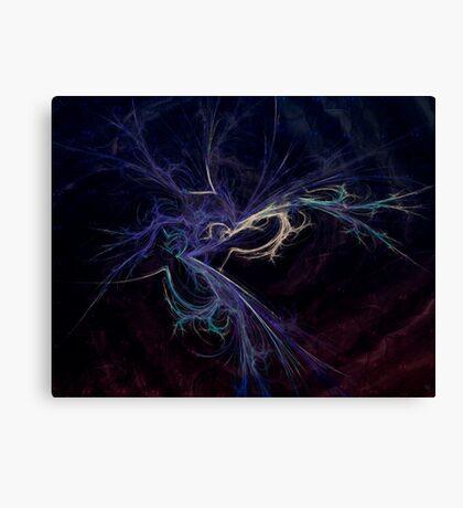 blue salad Canvas Print