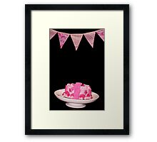 Before the Cake Smash Begins Framed Print