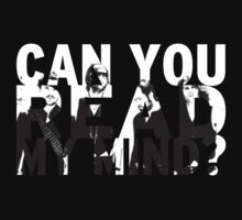 Can you read my mind? Kids Tee