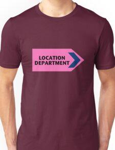Location Department - Film Crew Unisex T-Shirt