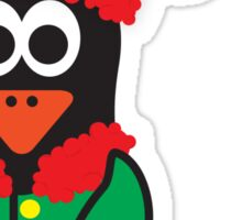 Christmas Penguin - Elf Sticker