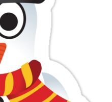 Christmas Penguin - Snowman Sticker