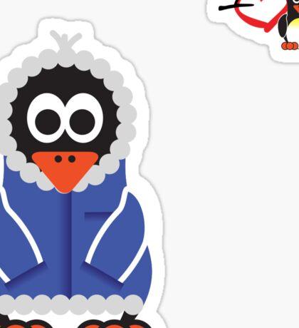 Christmas Penguin - Kid Sticker