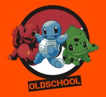 Pokemon done Oldschool Kids Clothes
