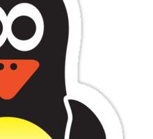 Bathroom Penguin - Ladies Sticker