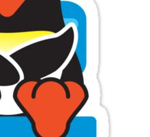 Bathroom Penguin - Toilet (Smelly Poo!) Sticker