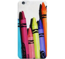 Color Me Bold - realistic still life iPhone Case/Skin