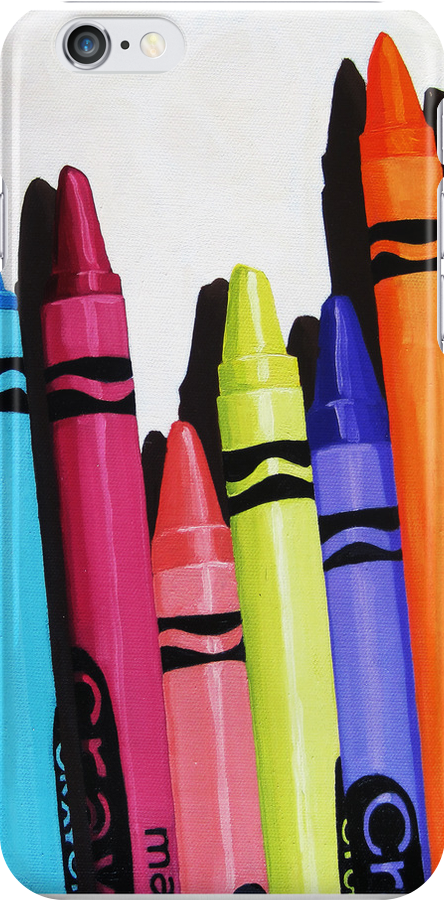 Color Me Bold - realistic still life by LindaAppleArt