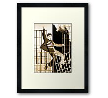Elvis Shakes the Pelvis!!! Framed Print