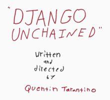 Quentin Tarantino - Django Unchained script by WarnerStudio