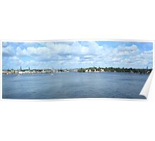 Panoramic view of the Lake  Poster