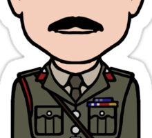 The Brigadier (sticker) Sticker