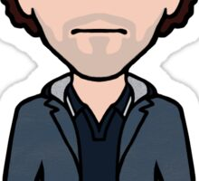 Scruffy Sherlock (sticker) Sticker