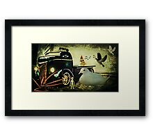 Am I still dreaming or is this for real? Framed Print